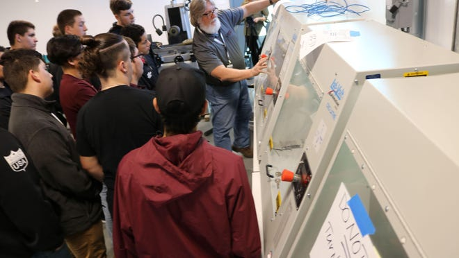 The first class of the region's advanced manufacturing program have graduated and are now in the workforce. The program, which was launched several years ago, encourages students to follow career paths in local manufacturing fields.