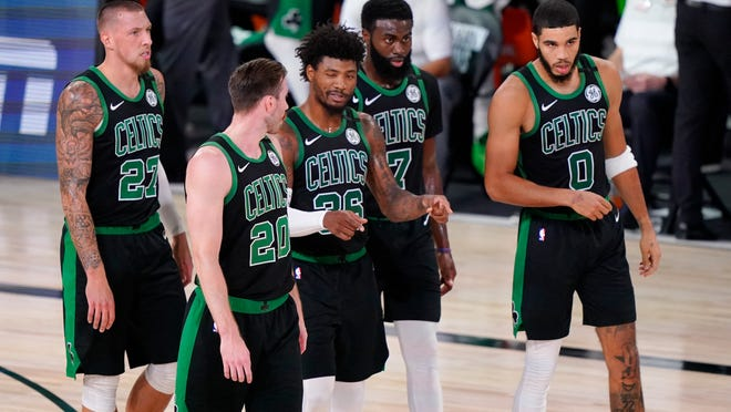 You can expect most of this year's Celtics to return next season.