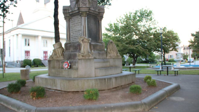 A $30,000 grant will pay for restoration of the Civil War monument in Orange Square.
