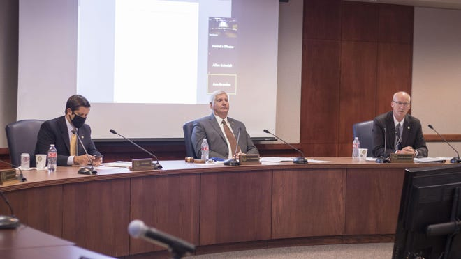 The Kansas Board of Regents voted Thursday to ask Gov. Laura Kelly to bring four-year university funding back to pre-pandemic levels in her budget proposal for fiscal year 2022.