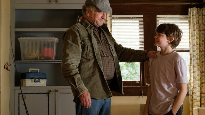 Grandpa Ed (Robert De Niro) and Peter (Oakes Fegley) enjoy a brief truce.