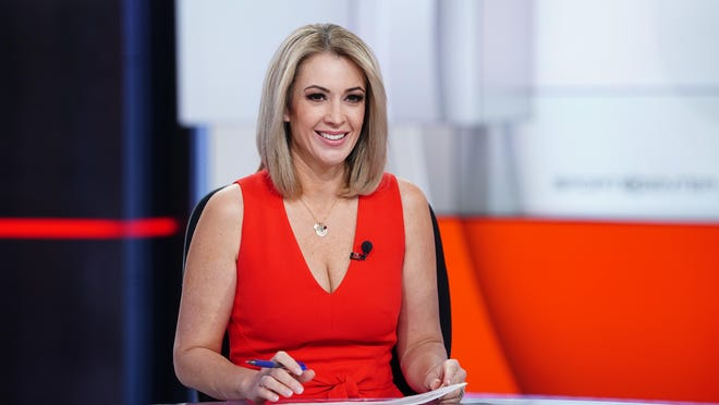 """Nicole Briscoe, a former Roscoe resident and now an ESPN """"SportsCenter"""" anchor, is this week's guest on the sports podcast """"Not Just a Game."""""""