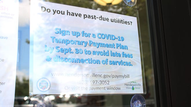 Customers in Hendersonville with delinquencies on their utilities must apply for a plan by Sept. 30 to avoid late fees and disconnection of services.