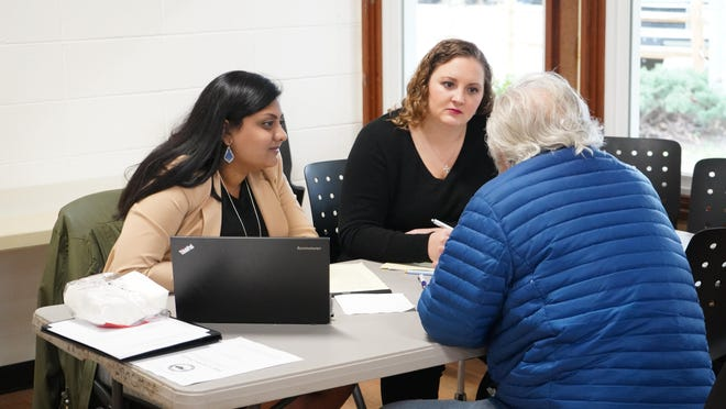 UNC Law students work with veterans in Asheville on their discharge upgrade cases.