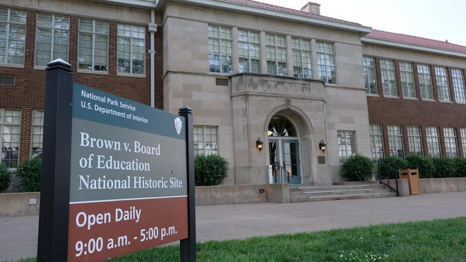 An effort announced Thursday seeks to create sites in other states to recognize the historic Brown v. Board of Education Supreme Court decision, which is currently the subject of one such location: Topeka's Brown v. Board of Education National Historic site, shown here at 1515 S.E. Monroe.