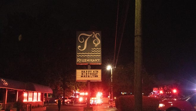 Augusta firefighters responded to a fire early Monday morning at T's Restaurant on Mike Padgett Highway.