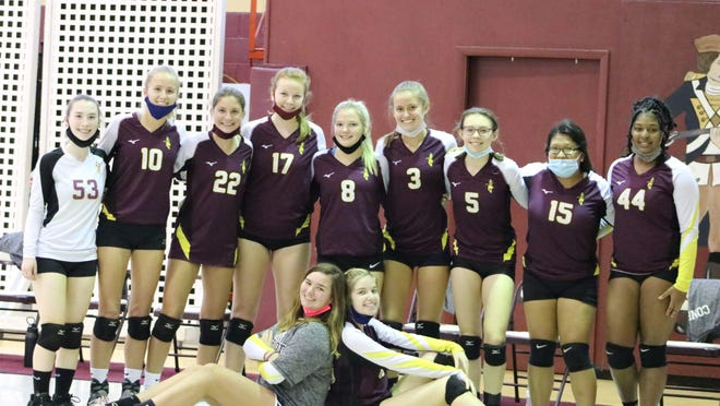 The 2020 Patrick Henry Academy Lady Patriots Volleyball Team