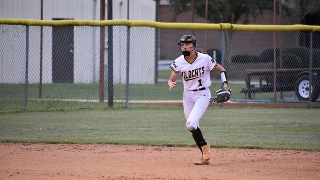 Richmond Hill senior shortstop Brooke Kessler is the softball team's only senior.