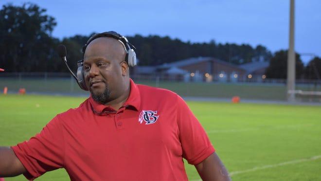 Bryan County High School's first-year head football coach Cherard Freeman.