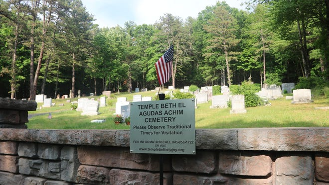 The Agudas Achim congregation that became Temple Beth El established a cemetery on North Orange Street in Port Jervis in 1908.