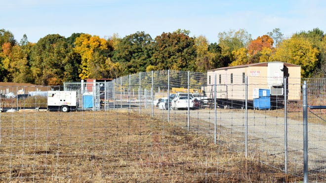 Pinegate Renewables is constructing a commercial solar farm on 10 acres at 540 S. Angola Road.