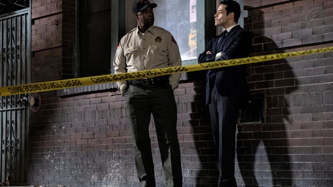 Denzel Washington and Rami Malek discuss their serial killer case.