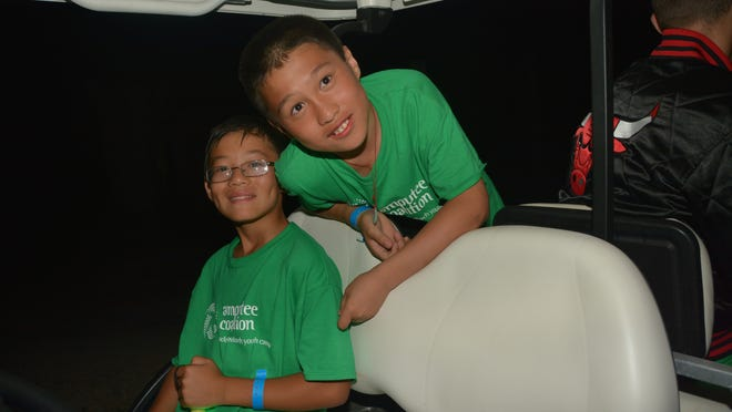 Zach Lux, right, and his friend Lucas were reunited this summer at a youth camp near Cincinnati. The boys were best friends at a Chinese orphanage before being adopted.