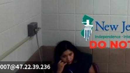 Karina Cedeno-Flores appeared virtually in front of Sussex County Superior Court Judge N. Peter Conforti on Monday, Aug. 3, 2020.
