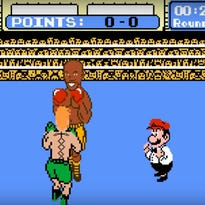 McGregor fights Mayweather in 'Punch-Out' parody