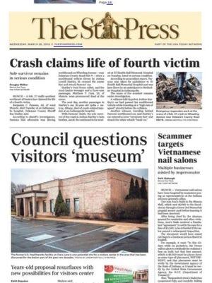 The Star Press, March 28, 2018