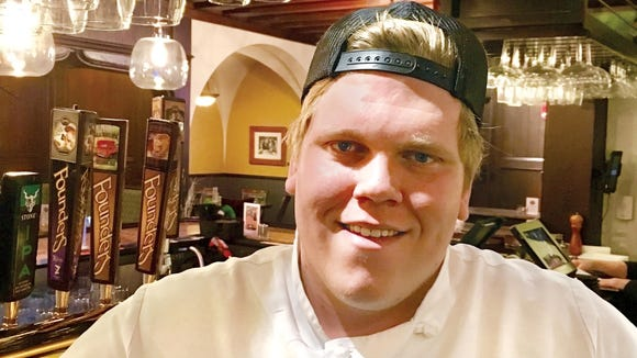 Bergen Carlson-Price has been promoted to executive chef from sous chef at the Brown Bottle in Schlitz Park, 221 W. Galena St.