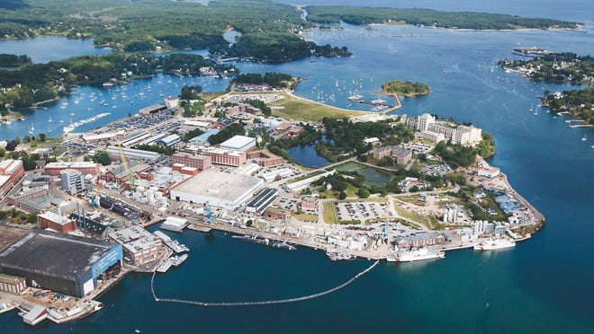 Portsmouth Naval Shipyard is planning a training exercise Tuesday, Nov. 17, 2020.