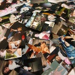 Should she share photos of deceased ex with his grieving family?
