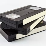 People preserved precious memories on VHS tapes in the past.