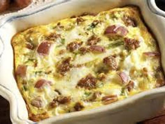 Italian Sausage Potato Casserole