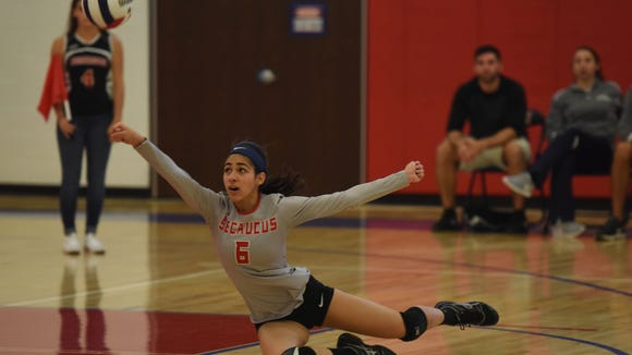 In 2017, Secaucus middle Gabby Pimentel finished with more than 80 blocks for the second straight season.