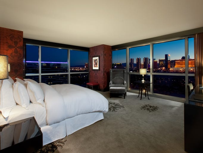 Epic Views From Vegas Hotel Rooms