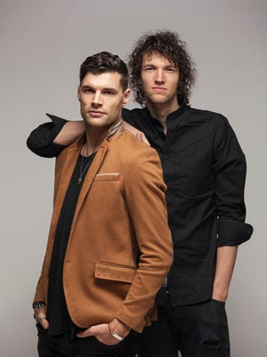 Christian duo For King & Country is made up of brothers Joel, left, and Luke Smallbone.