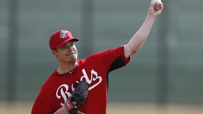 Cincinnati Reds pitcher Manny Parra had his fourth straight 1-2-3 inning.