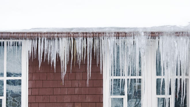 Falling temperatures could cause flash freezing