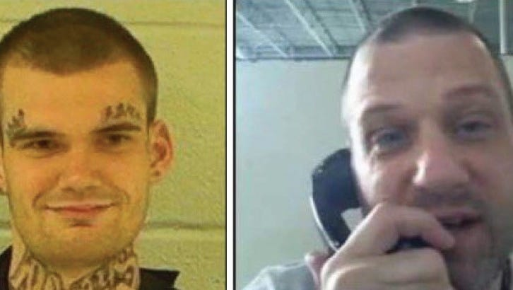 Escaped Ga. Inmates Who Killed 2 Guards Captured In Tennessee, Police Say