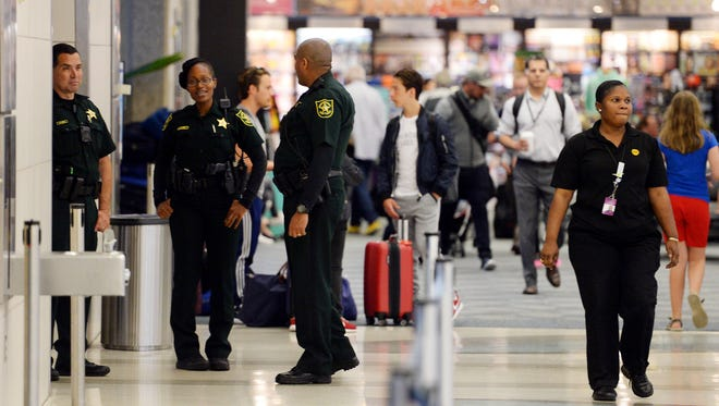 The routine slowly gets back to normal at Fort Lauderdale-Hollywood International Airport just a day after Esteban Santiago, 26, a former military veteran, opened fire with a handgun in the baggage clam area of Terminal 2.