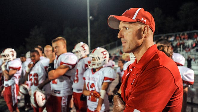 Franklin coach Josh Brooks and the Panthers host Tuscola on Friday.