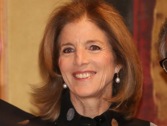 Caroline Kennedy at the Desert Town Hall in Indian