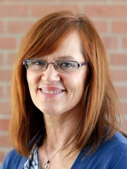 Beth Schnorr is the executive director at Harbor House in Appleton.
