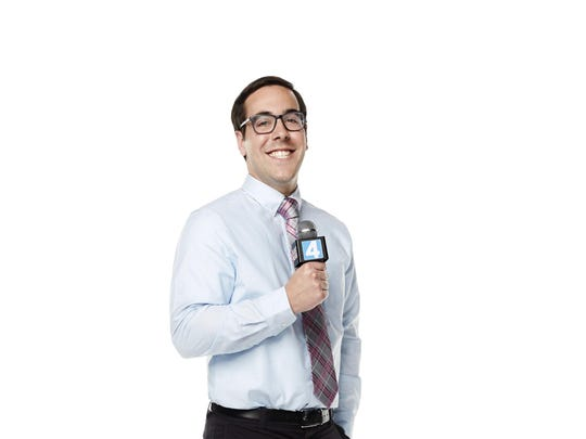 """Jeff Forgeron, a Palm Desert grad, is a contestant on """"America's Next Weatherman"""" on TBS."""