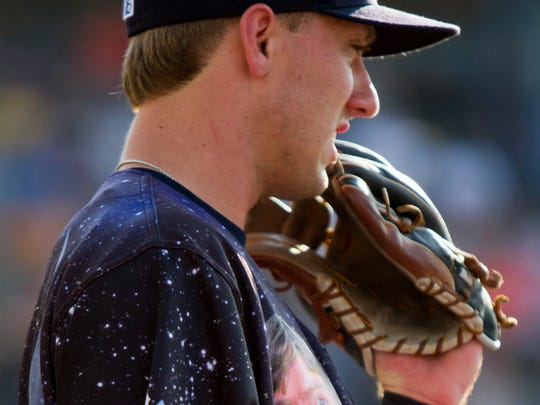 West Michigan Whitecaps outfielder Kody Clemens is