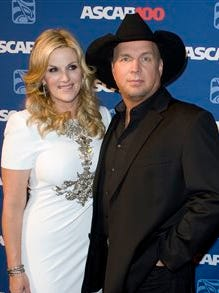 Garth Brooks and Trisha Yearwood attend the 2014 ASCAP Centennial Awards, benefiting the ASCAP Foundation and its music education, talent development and humanitarian activities, at the Waldorf-Astoria on Monday in New York.