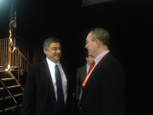 Jay Dardenne after the forum.jpg