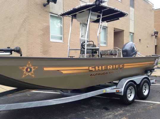 Sheriff boat