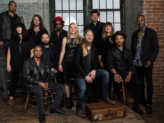 The Tedeschi Trucks Band is large and in charge for