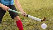 field hockey stock photo