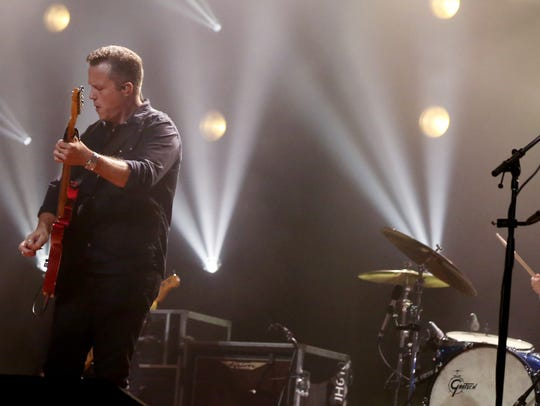 Jason Isbell and the 400 Unit perform at the Ryman