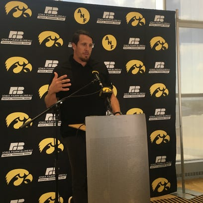 Former Iowa linebacker Chad Greenway speaks about his