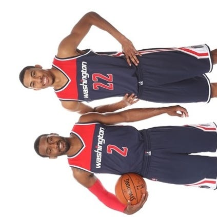 The Wizards unveiled their new alternate jerseys for