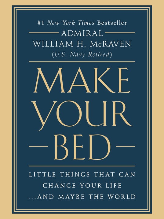 Admiral William Mcraven Make Your Bed Soeech