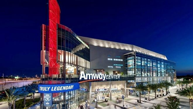 Orlando's Amway Center is home to the NBA's Michigan-owned Magic.