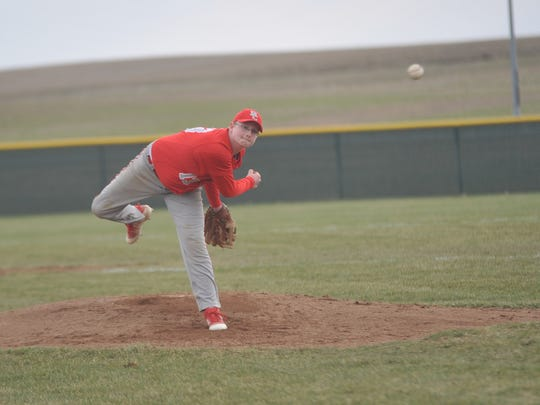 Senior Matthew Summers will be one the the Bucks' aces on the mound this season after posting a 1.99 ERA last year.