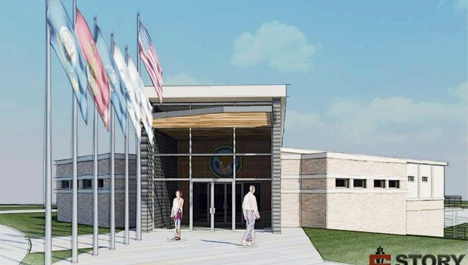 Proposed upgrade for Veteran's Memorial building in Grinnell.