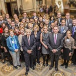 Ralph C. Wilson, Jr. Foundation trustees and grantees. The foundation gave Angela Hospice a $2.1 million grant.